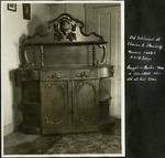 003_01: Old Sideboard of Charles H. Sternberg by George Fryer Sternberg 1883-1969