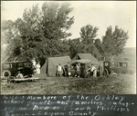 005_01: Camping in Oakley and Collection of Fossil Specimens by George Fryer Sternberg 1883-1969