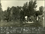 005_02: Camping in Oakley and Collection of Fossil Specimens by George Fryer Sternberg 1883-1969