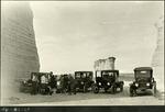 012_03: Oakley School Group at Monument Rocks by George Fryer Sternberg 1883-1969