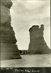013_01: Monument Rocks by George Fryer Sternberg 1883-1969