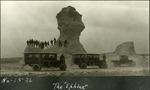 013_03: Monument Rocks by George Fryer Sternberg 1883-1969