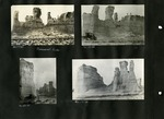 014_00: Different views of the Monument Rocks by George Fryer Sternberg 1883-1969