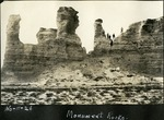 014_01: Different views of the Monument Rocks by George Fryer Sternberg 1883-1969