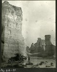 014_03: Different views of the Monument Rocks by George Fryer Sternberg 1883-1969