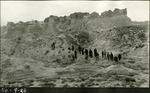 019_02: Chalks Beds Rock Formations by George Fryer Sternberg 1883-1969