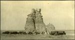 021_02: Large Rock Formation by George Fryer Sternberg 1883-1969