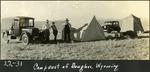 027_04: Wyoming Camp by George Fryer Sternberg 1883-1969