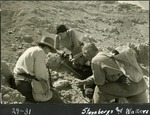 031_02: Cleaning Around a Fossil by George Fryer Sternberg 1883-1969