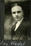 003_01: Portrait of Leo Wedel by George Fryer Sternberg 1883-1969