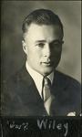003_02: Portrait of Wiley by George Fryer Sternberg 1883-1969