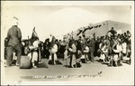 009_04: Indian Dance at San Juan, New Mexico by George Fryer Sternberg 1883-1969