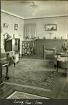 006_03: Living Room of Sternberg Home by George Fryer Sternberg 1883-1969