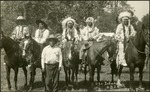 010_03: Six Indigenous American Men by George Fryer Sternberg 1883-1969