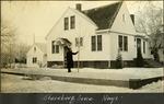012_01: Sternberg House in Winter by George Fryer Sternberg 1883-1969
