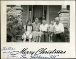 016_07: Christmas Card from the Walker Family by George Fryer Sternberg 1883-1969