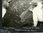 021_02: Newspaper Rock by George Fryer Sternberg 1883-1969