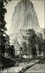 021_03: Devils Tower by George Fryer Sternberg 1883-1969