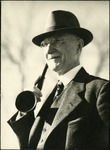 021_04: Man With an Ear Trumpet by George Fryer Sternberg 1883-1969