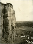 013_04: Wood Hill Cliff Near Price, Utah by George Fryer Sternberg 1883-1969