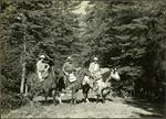 014_02: Three Men on Horses by George Fryer Sternberg 1883-1969