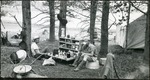 017_05: Eating a Meal at a Camp Site by George Fryer Sternberg 1883-1969