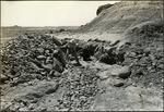 019_01: Two Men Working in a Rock Pile by George Fryer Sternberg 1883-1969