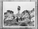 Geology class field trip by George Fryer Sternberg 1883-1969