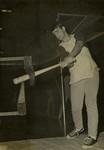 Gary Goetz During Practice