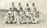 1910's Western Branch of the Kansas Normal School Baseball Team Photograph