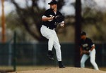 Fort Hays State University Baseball Team Member Brian Thurlow Pitching