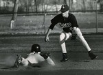 Baseball Players Brian Keck and Fred Hunt