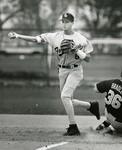 Fort Hays State University Baseball Player Brian Keck Throwing Baseball