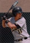 Fort Hays State University Baseball Player Nate Field Batting