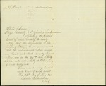 Letter to Thomas Bowen from the Iowa Home Guards by Charles Linderman