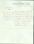 Special order no. 85 promoting Thomas Bowen to Colonel by Lyman Scott Jr.