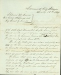 Letter of support signed by Brig. General Bowen's men in the 13th Regiment Kansas Volunteers by United States Army, Kansas Infantry Regiment, 13th Volunteers