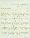 Letter about the Dubois Report signed by officers of the 13th Kansas