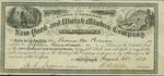 Stock certificate for New York and Unitah Mining Company by New York and Unitah Mining Company