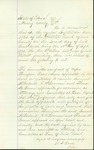 Record of Thomas Bowen's admittance as an Attorney of Law by J. W. Allen