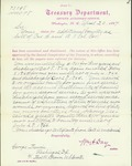 Memo explaining bounty payment by William A. Day