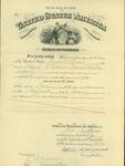 Pension Certificate of Thomas M. Bowen