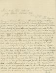 Letter about a mine near Del Norte, Colorado