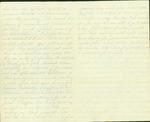 Letter from A. J. Huntoon to his wife Lizzie Huntoon