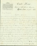 Correspondence to Mrs. Mary Woodside from S.M.B.