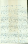 Letter written by a woman in Wichita to her sister and brother in Ohio