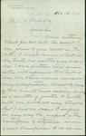Letter written by B. J. Waters to Thomas M. Nichol
