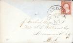 Envelope addressed to J. M. S. Williams Esq.