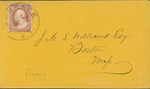 Envelope addressed to Mrs. H. W. Emerson