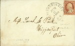 Envelope addressed to Mr. Austin [illegible] of Centropolis, Kansas